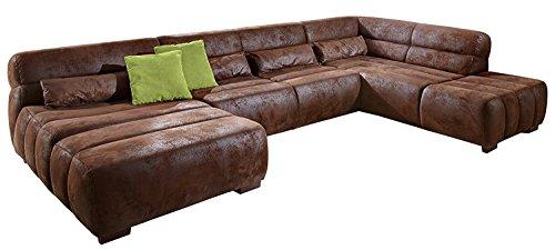 Cavadore Wohnlandschaft Scoutano, XXL-Couch i...