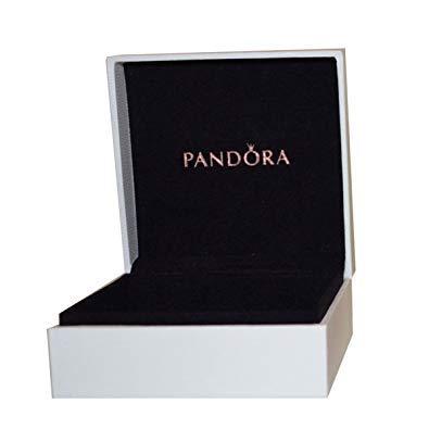 Pandora Unisex-Schmuckkasten Schmuckbox weiß...