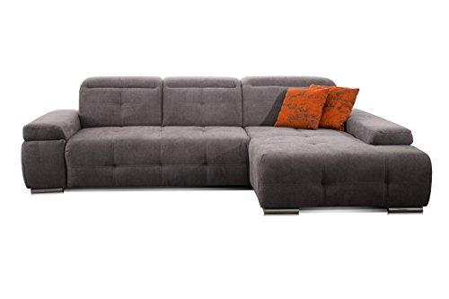 CAVADORE Schlafsofa Mistrel mit Longchair XL ...