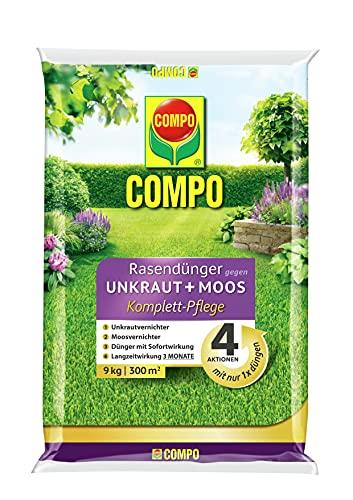 COMPO FLORANID Rasendünger gegen Unkraut+ Mo...