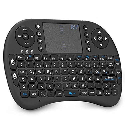 Rii i8 Mini Tastatur Wireless, Smart TV Tasta...