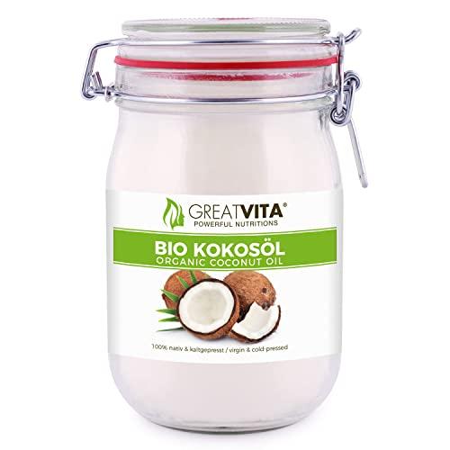 MeaVita Bio Kokosöl im Bügelglas, nativ, 1e...