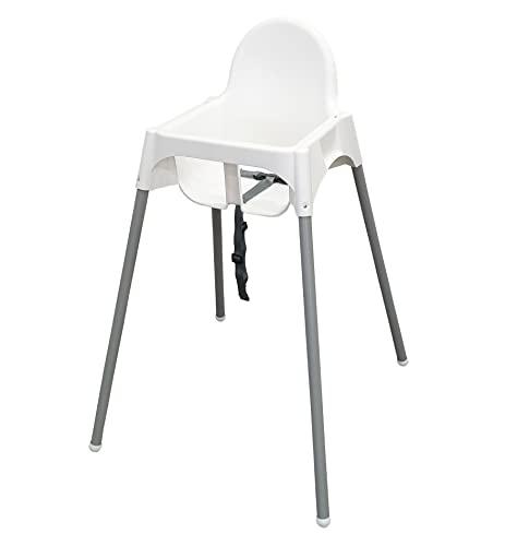 Ikea ANTILOP Kinderstuhl mit Sitzgurt; in wei...