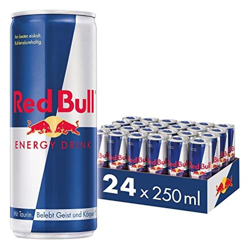 Red Bull Energy Drink Dosen Getränke 24er Pa...