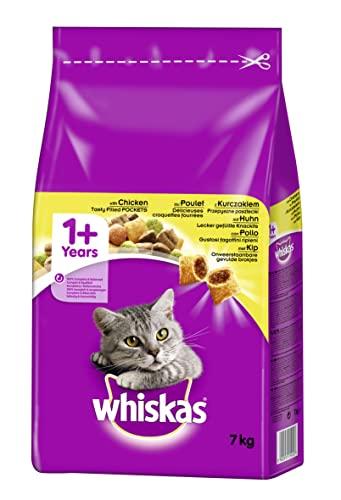 Whiskas Katzenfutter Trockenfutter Adult 1+ m...