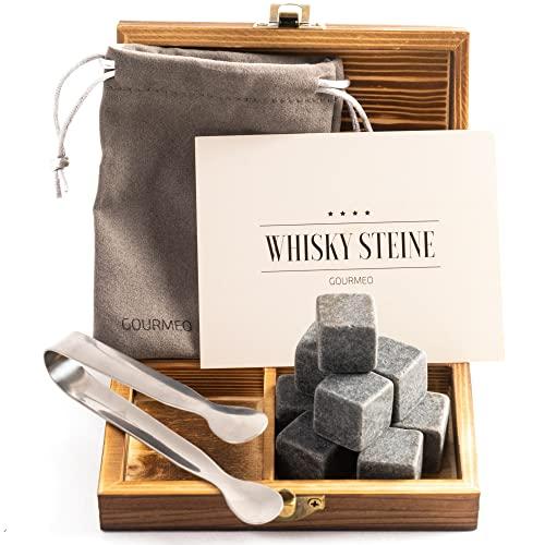 GOURMEO Whisky Steine aus natürlichen Specks...