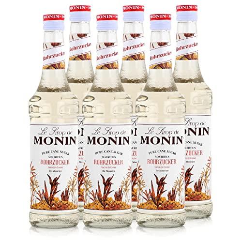 Monin Sirup Weißer Rohrzucker 6 x 0,7l