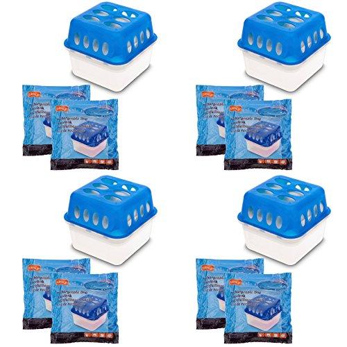 4X Ultra Fresh Luftentfeuchter Feuchtigkeits-...