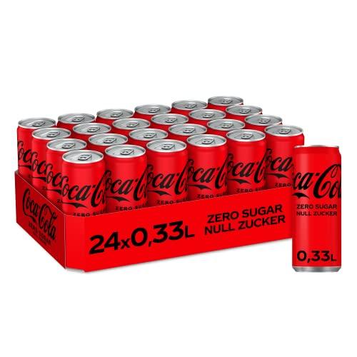 Coca-Cola Zero Sugar EINWEG Dose, (24 x 330 m...