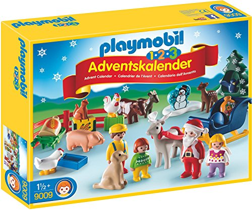 Playmobil 9009 - 1.2.3 Adventskalender Weihna...