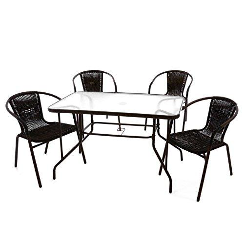 Nexos 5-teiliges Gartenmöbel-Set – Garteng...