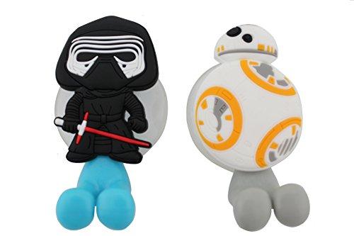 FINEX Star Wars Kylo Ren & BB-8 Droid Zahnbü...