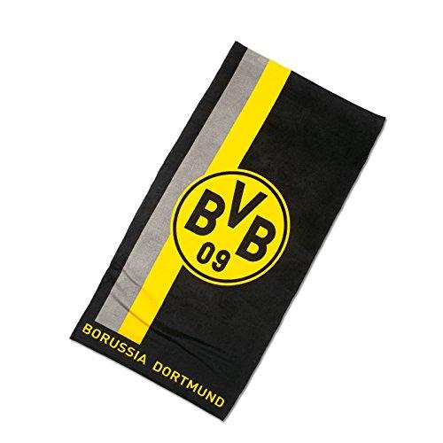 Borussia Dortmund BVB-Duschtuch mit Logo im S...