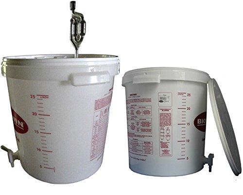 Gärbehälter Gäreimer 30L für Bier oder We...