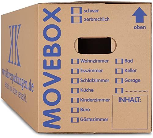 KK Verpackungen 10 x Umzugskartons Movebox 2-...