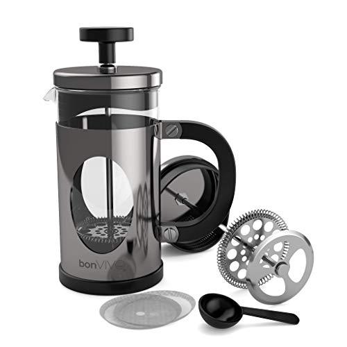 bonVIVO® GAZETARO I Design-Kaffeebereiter Un...