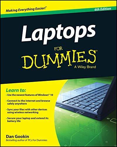 Laptops For Dummies by Dan Gookin (2015-11-09...