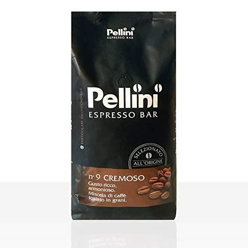 Pellini No.9 Cremeso Gerösteten Kaffeebohnen...
