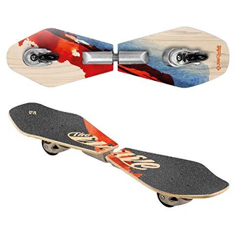 Streetsurfing Street Surfing Wooden Waveboard...