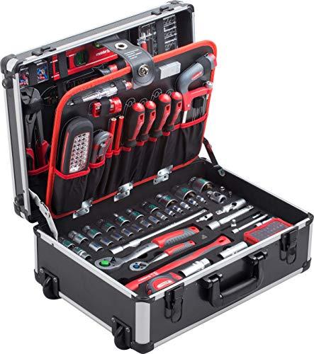 Meister Werkzeugtrolley 156-teilig - Werkzeug...