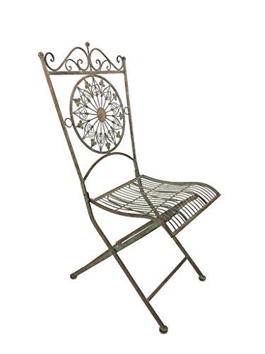 Crispe home & garden Eleganter robuster Stuhl...