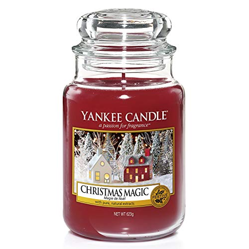 Yankee Candle Classic Glaskerze Christmas Mag...