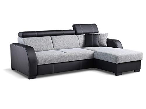 Couch mit Schlaffunktion Eckcouch Ecksofa Pol...