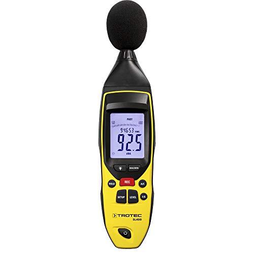 TROTEC SL400 Schallpegel Messgerät mit Daten...