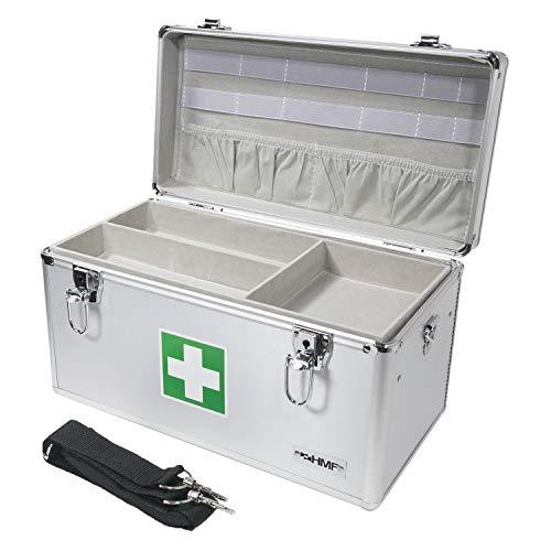 HMF 14701-09 Alu Medizinkoffer, Erste Hilfe K...