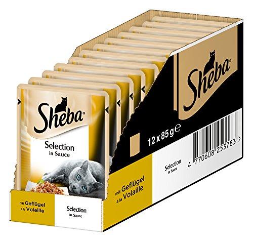 Sheba Selection in Sauce, Katzenfutter im Fri...