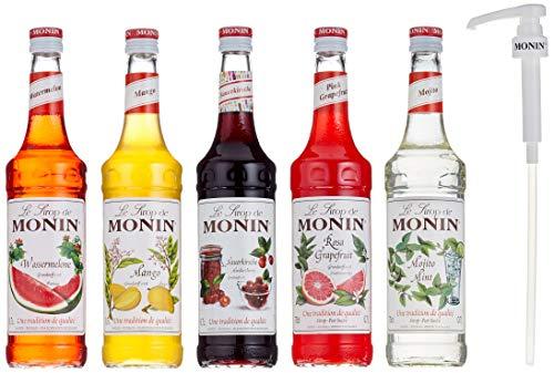 Monin Cocktail-Set 5+5, Sauerkirsche, Mojito ...