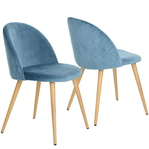 Coavas Esszimmerstühle Schmink Stühle Samt ...