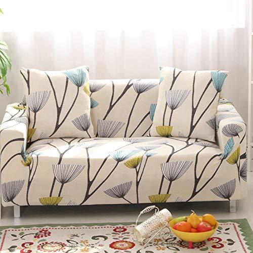 HYSENM 1/2/3/4 Sitzer Sofabezug Sofaüberwurf...