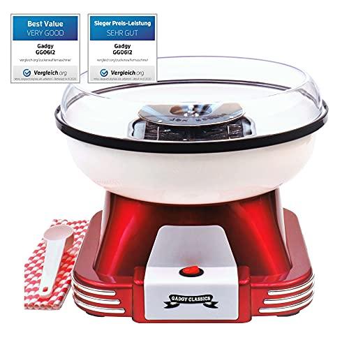 Gadgy ® Zuckerwattemaschine für Zuhause   R...