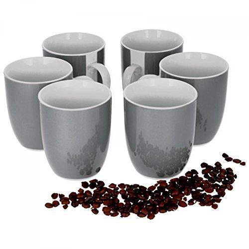 Van Well Vario 6er Kaffeetassen-Set I Porzell...