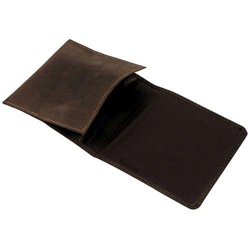 Tabakrollbeutel aus Wildleder in dunkelbraun