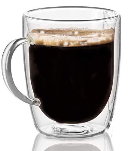 Cooko Doppelwandige Gläser,Kristall Kaffeegl...