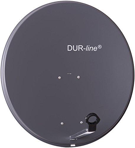 DUR-line MDA 80cm Anthrazit - Aluminium Satel...