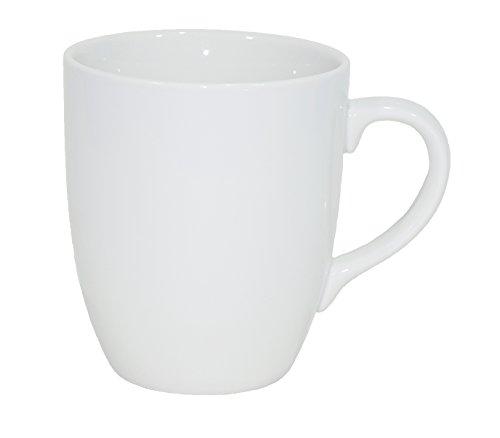 Set aus 6 Stück Tassen 300 ml aus echtem Por...