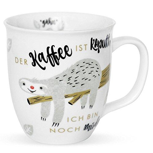 Die Geschenkewelt 45180 Faultier Tasse mit Sp...