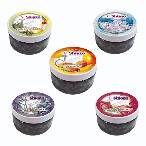 Shiazo Dampfsteine Shisha Mixed Pack, 5 Sorte...