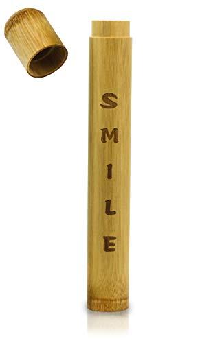 Zahnbürstenhülle aus Bambus - Perfekt für ...