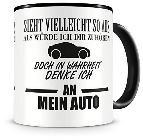 Samunshi® Auto Tasse mit Spruch Geschenk fü...