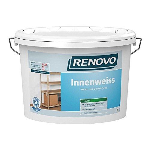 Innenweiß Innenfarbe weiß matt 2,5 L Wand- ...