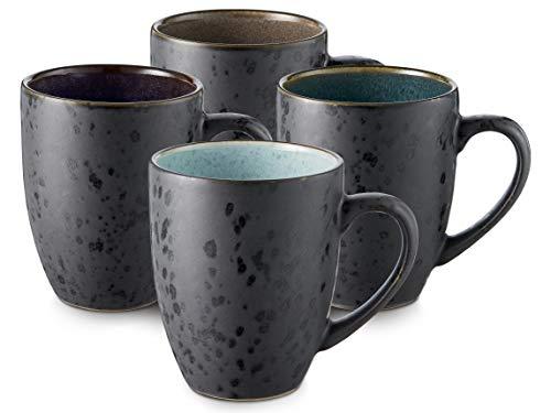 BITZ Kaffee-Becher, Tassen aus Steinzeug, Kaf...