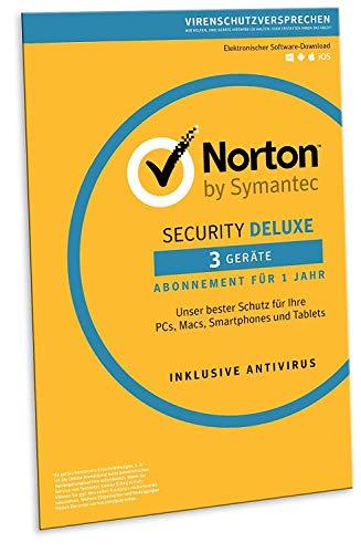 Norton Security Deluxe 2019 | 3 Geräte | 1 J...