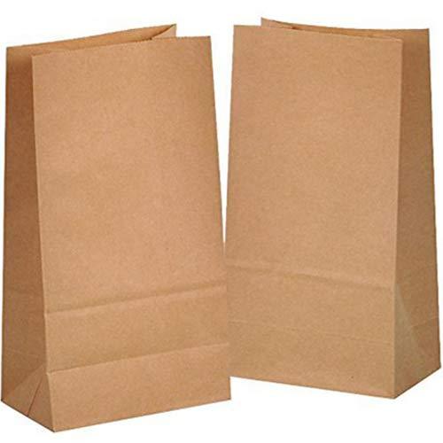 kgpack 50 STK Papiertüten Braun - 14 x 26 x ...