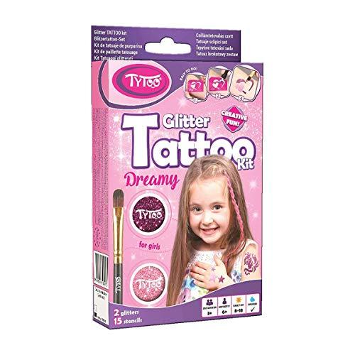 Tytoo Glitzertattoo Set für Mädchen mit 15 ...