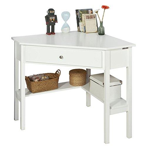 SoBuy® FWT31-W Ecktisch weiß Schreibtisch C...