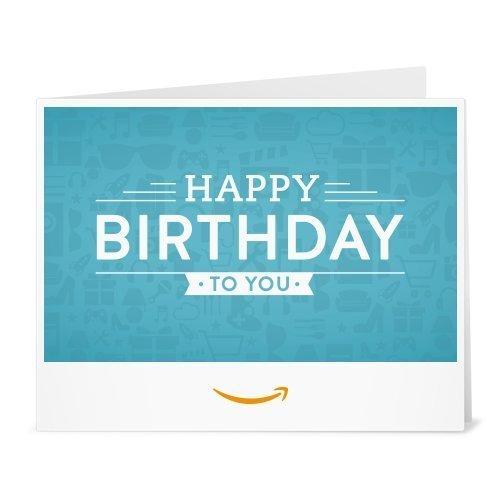 Amazon.de Gutschein zum Drucken (Happy Birthd...